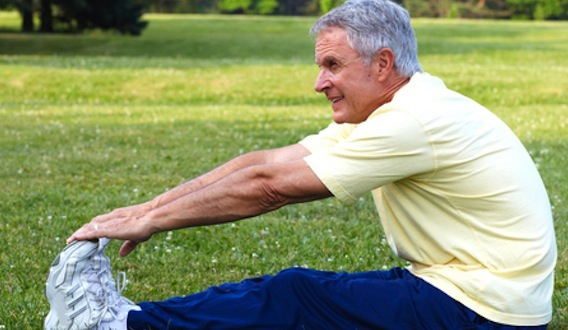 Small amount of exercise benefits over-60s